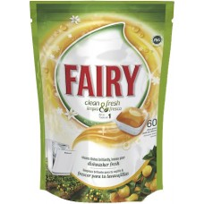 Таблетки Fairy Clean&Fresh All in One Citrus 60 шт.