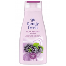 Гель для душа Family Fresh Blackberry Twist, 500 мл