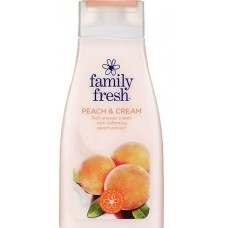 Гель-крем для душа Family Fresh PEACH & CREAM персик 500 мл