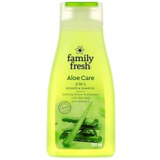 Гель для душа Family Fresh Aloe Care, 500 мл