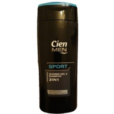 Шампунь и гель для душа CIEN Men 2in1 Sport, 300мл