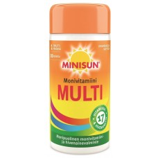 Витамины MINISUN Monivitamiini Multi, 100 табл