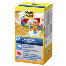 Витамины MULTI-TABS Mini Plus 3in1, 30 табл
