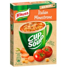 Суп Knorr Cup a Soup Minestronekeitto, 3x19 гр