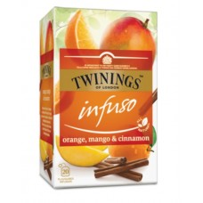Чай Twinings Infuso orange, mango & cinnamon, 20×2 гр