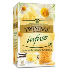 Чай Twinings Infuso camomile, honey & vanilla, 20x1,5 гр