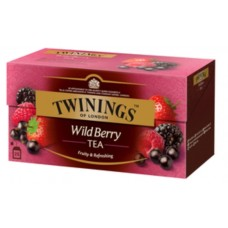 Чай Twinings Wild Berries, 25x2 гр
