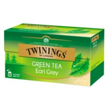 Чай Twinings Green Earl Grey, 25x1,6 гр