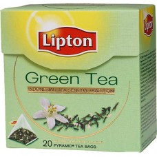 Чай в пирамидках Lipton Green Tea 20 шт