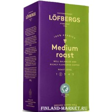 Кофе молотый Löfbergs Lila Medium Roast 500 гр