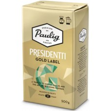 Кофе молотый Paulig Presidentti Gold Label, 500 гр