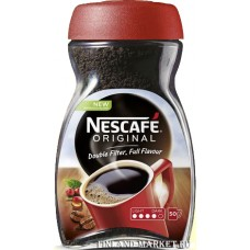 Кофе растворимый Nescafe Original  (стекло) 100 гр