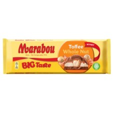 Шоколад Marabou Big Taste Toffee Whole Nut, 300 гр