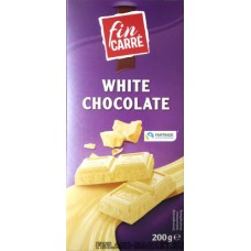 Шоколад белый fin KARRE White Chocolate, 200 гр