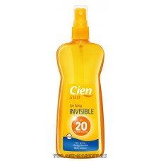 Солнцезащитный спрей, Cien Sun Spray invisiable SPF-20, 250мл