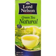 Чай зеленый Lord Nelson Green Tea Natural в пакетиках 25 шт.